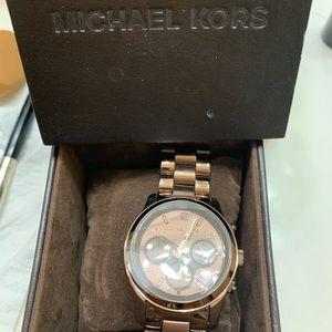 Michael Kors brown watch